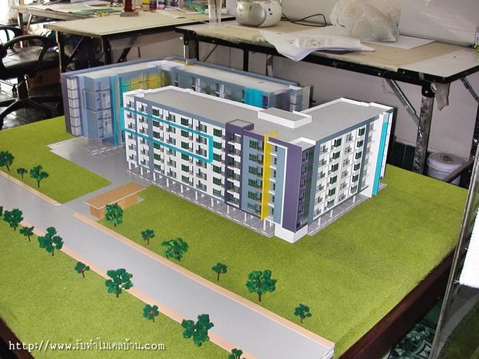โมเดลคอนโด-โมเดลตึกแถว-โมเดลอาคารพานิชย์-2